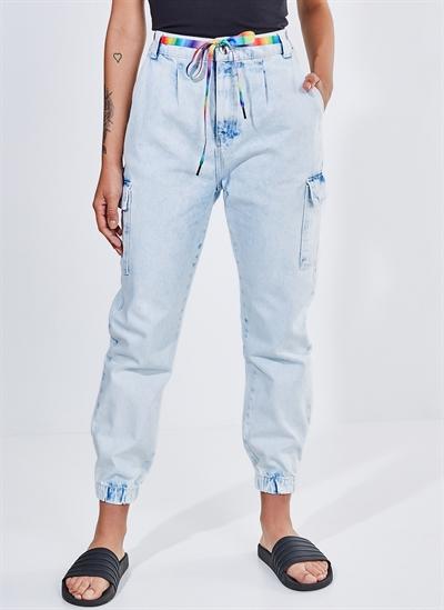 b700499b3 Calça Jeans Cargo - Moda Feminina e Masculina: Roupas, Calçados ...