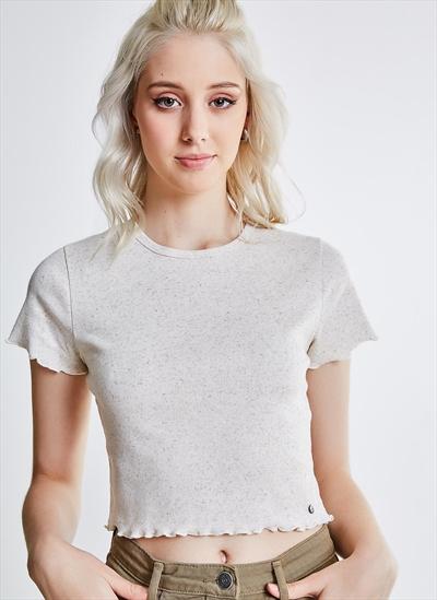 c00d988459 Blusa Cropped Off-white - Moda Feminina e Masculina  Roupas ...