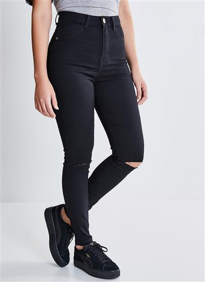 3dedfa60c0 Calça Jeans Tb Cint Alta Elast Nav - Black Jeans - Moda Feminina e ...