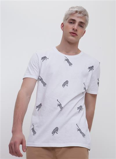 706a986db Camiseta Estampada Onças - Moda Feminina e Masculina: Roupas ...